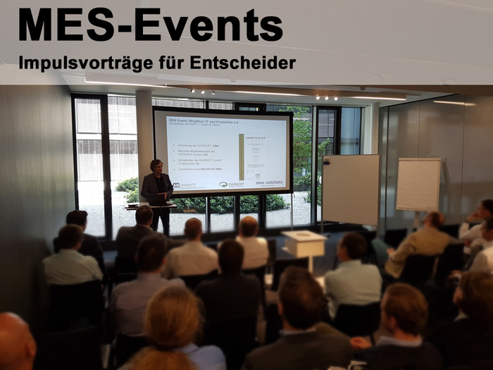 MES-Events locken branchenübergreifend Interessenten