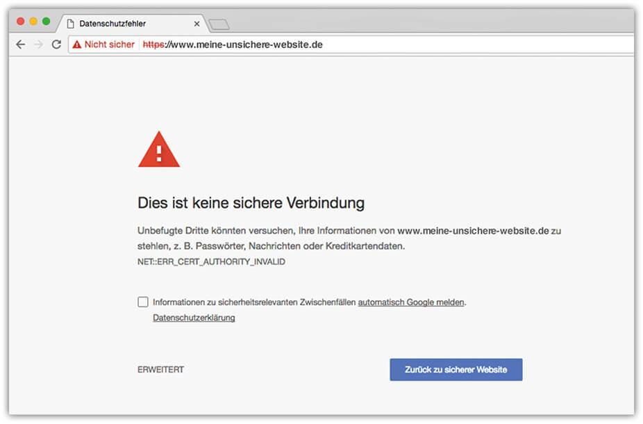 Warum Firmen-Webseiten jetzt SSL-verschlüsselt sein sollten
