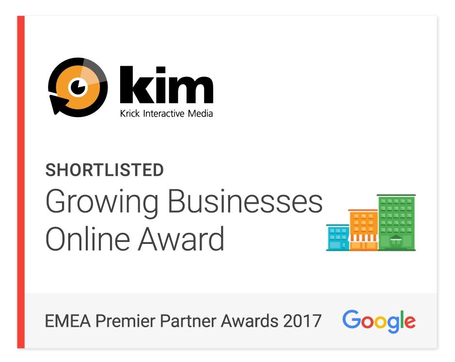 Google EMEA Premier Partner Awards 2017