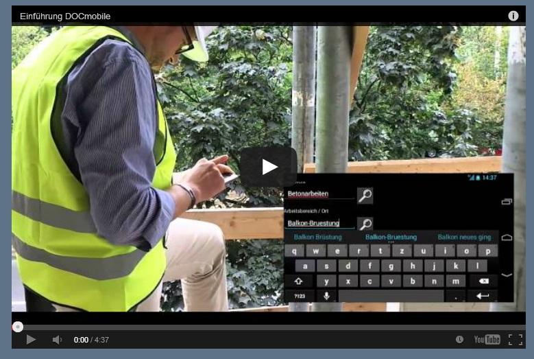 Bautagebuch auf der Baustelle – händisch oder mobil?