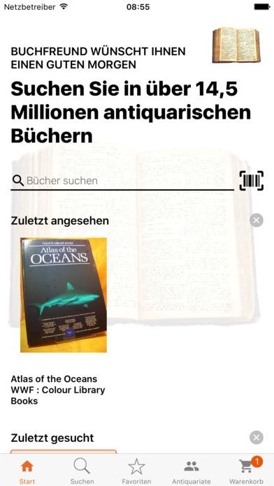 Buchfreund-App für iOS