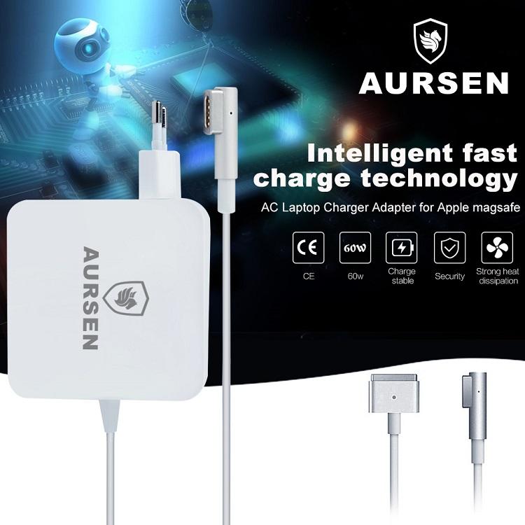 Preiswerter Ersatz-Netzadapter für den MagSafe 1 der Apple Air Notebook-Serie von Aursen
