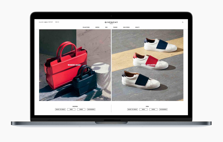 R/GA und Givenchy launchen serviceorientierte Online-Plattform