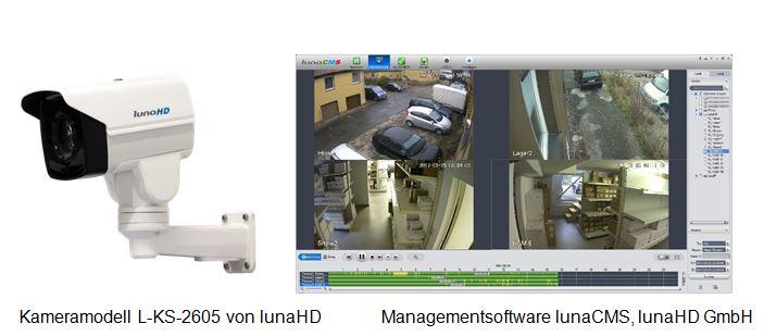 EsSita 2017: lunaHD präsentiert HD-CVI-Überwachungssysteme