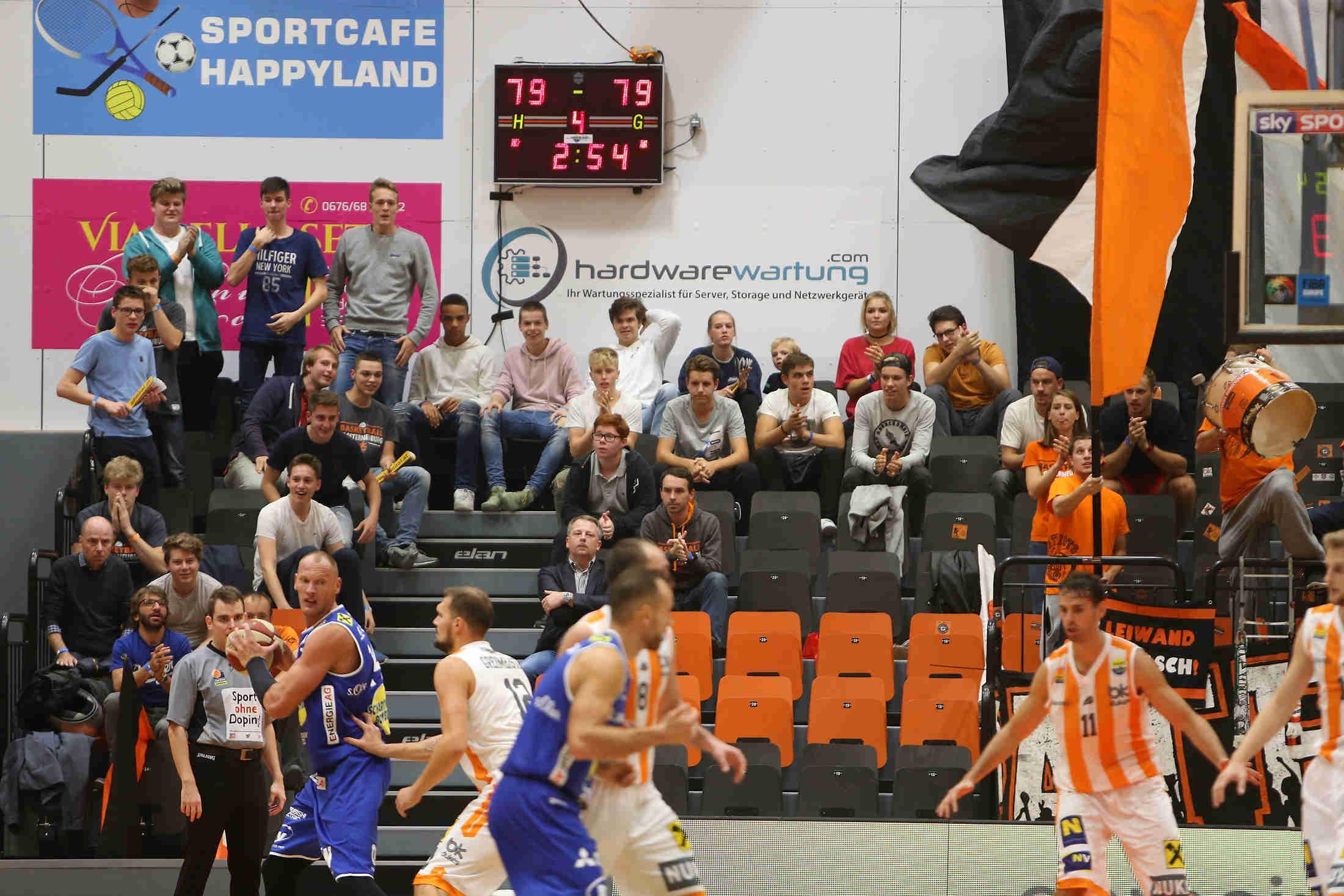 Hardwarewartung.com neuer Sponsor beim Österreichischen Basketball Rekordmeister