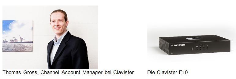 Neue leistungsstarke Clavister-Firewall E10 für den Mittelstand