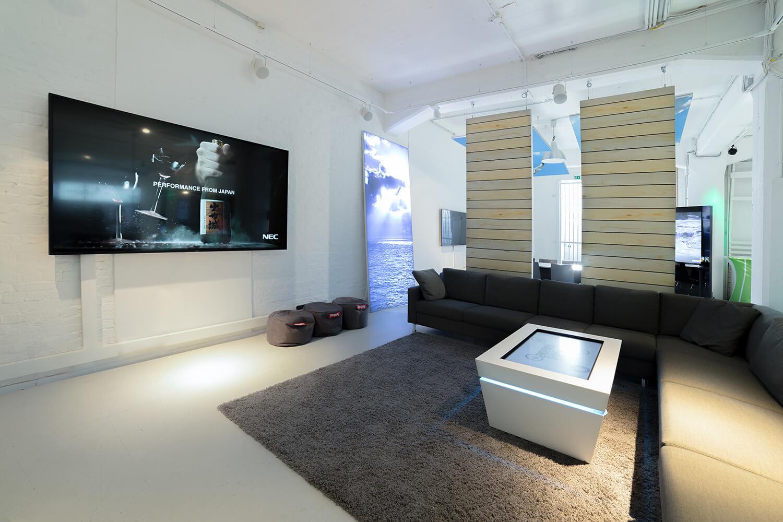 Digital Signage Innovation Center erstrahlt in neuem Glanz