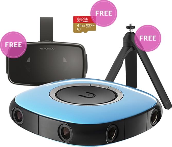 Das VUZE™-Kamera Bundle – ein Weihnachtsgeschenk mit VR-360°-3D Format
