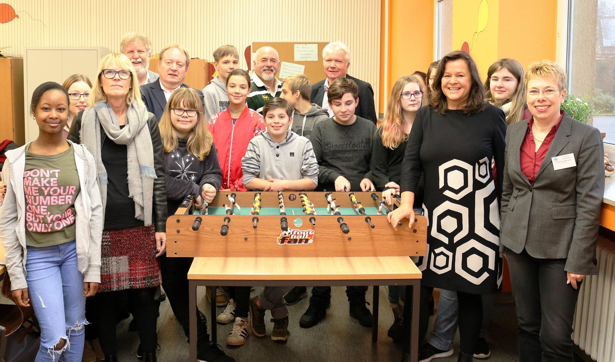 "GFOS mbH unterstützt Mentoringprojekt ""Tandem"" mit 10.000 Euro"
