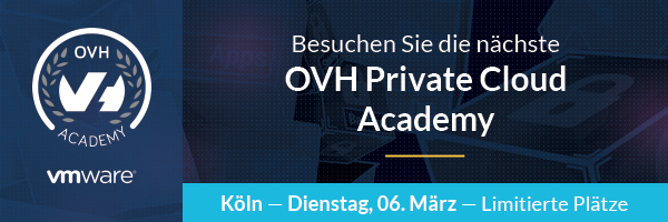 Cloud Praxis-Workshop am Rhein: 1. OVH Academy 2018 in Köln