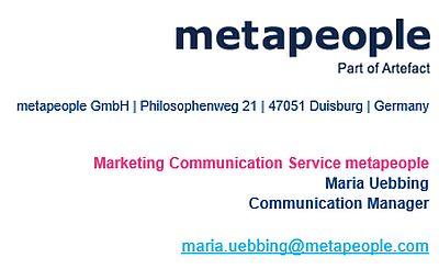 OMR 2018: metapeople-Masterclass