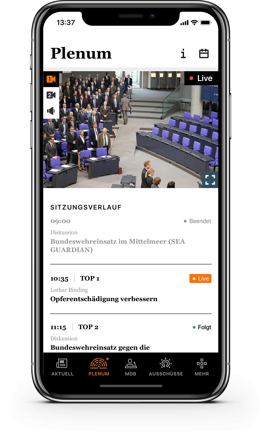 Bundestag lässt bei den Tschechen neue App programmieren