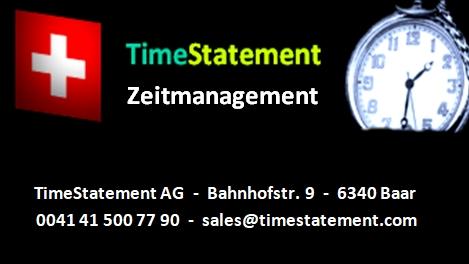 Cloudbasierte Zeiterfassung mit TimeStatement