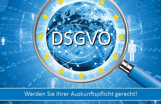 Zur Datenschutz-Grundverordnung: So werden Sie der Auskunftspflicht gerecht
