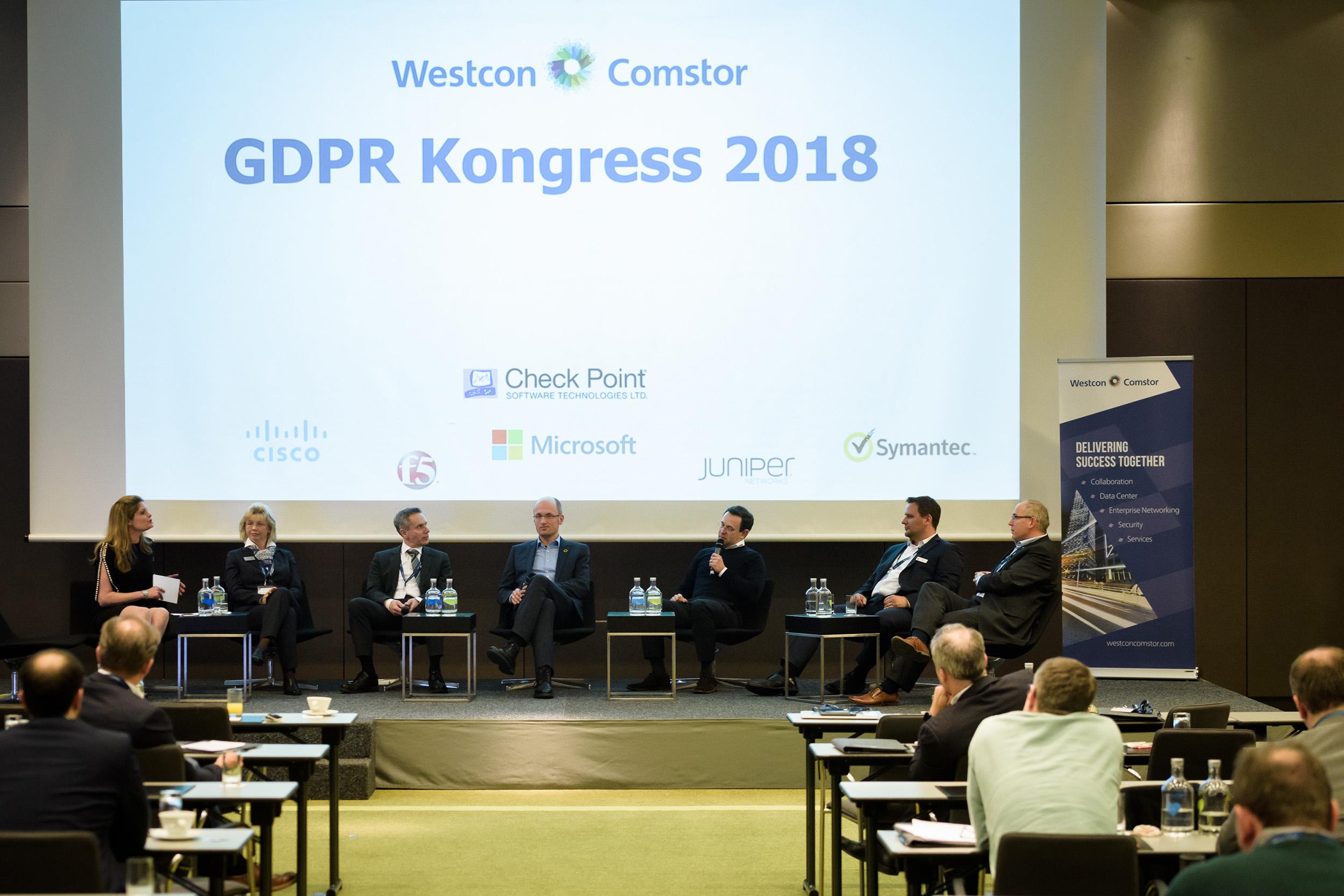 Über 100 Besucher beim Westcon-Comstor GDPR Kongress