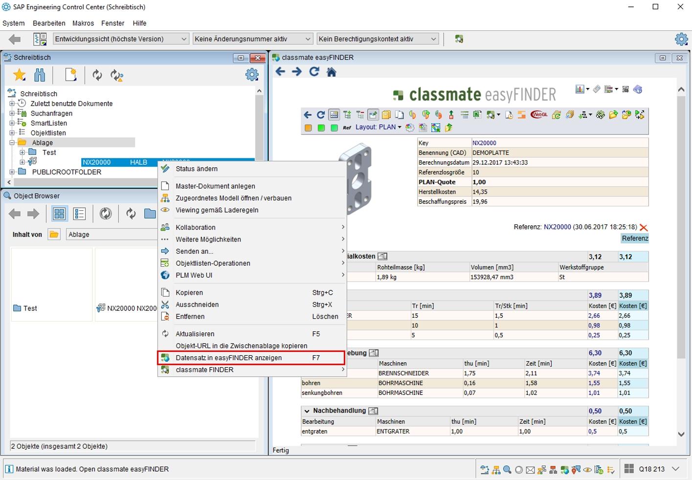 Kooperation von DSC und simus:  simus classmate integriert in SAP ECTR