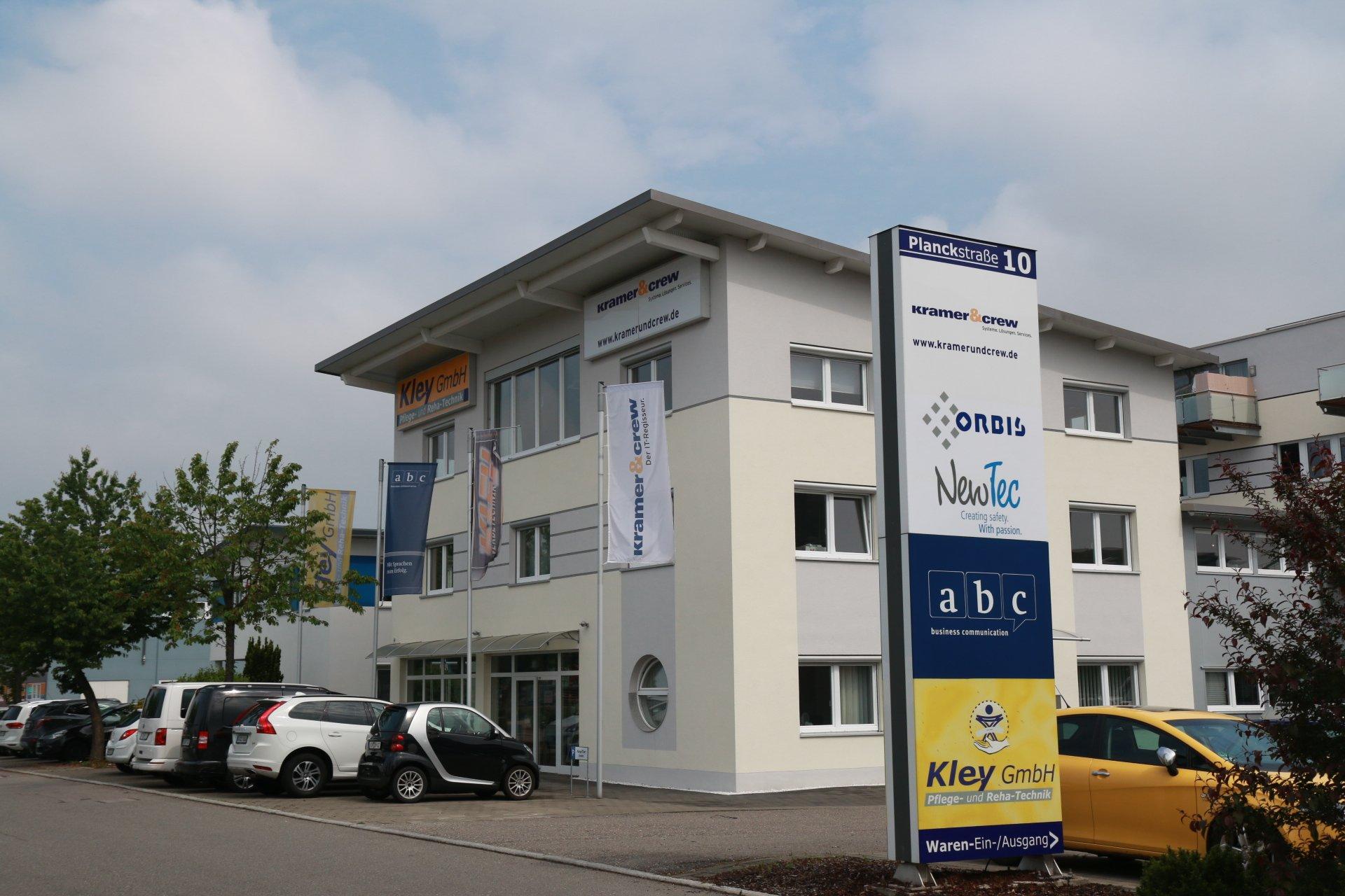 NewTec Friedrichshafen bezieht größeren Standort