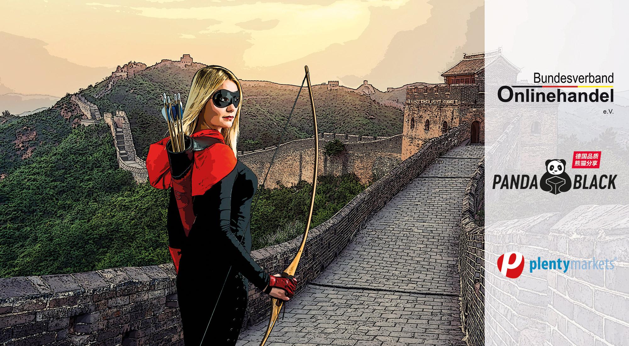 Ziel China – BVOH startet mit seiner Initiative PANDA.BLACK einzigartiges Sprungbrett für Onlinehändler in den Fernen Osten