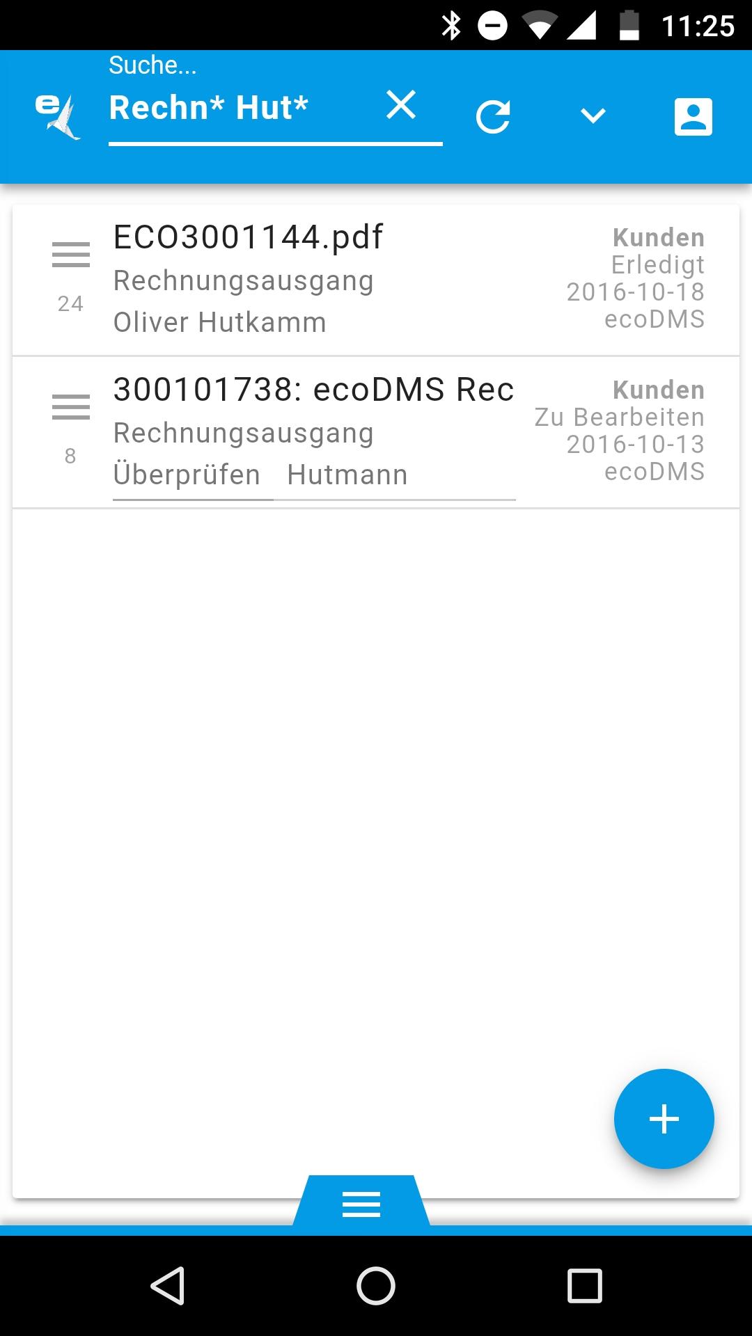Erste Details zum neuen ecoDMS Archiv Version 18.X in Q4.2018