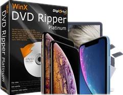 DVD auf iPhone Xs: WinX DVD Ripper Platinum 8.8.1 steht für alle neuen iPhone Modelle 2018 bereit