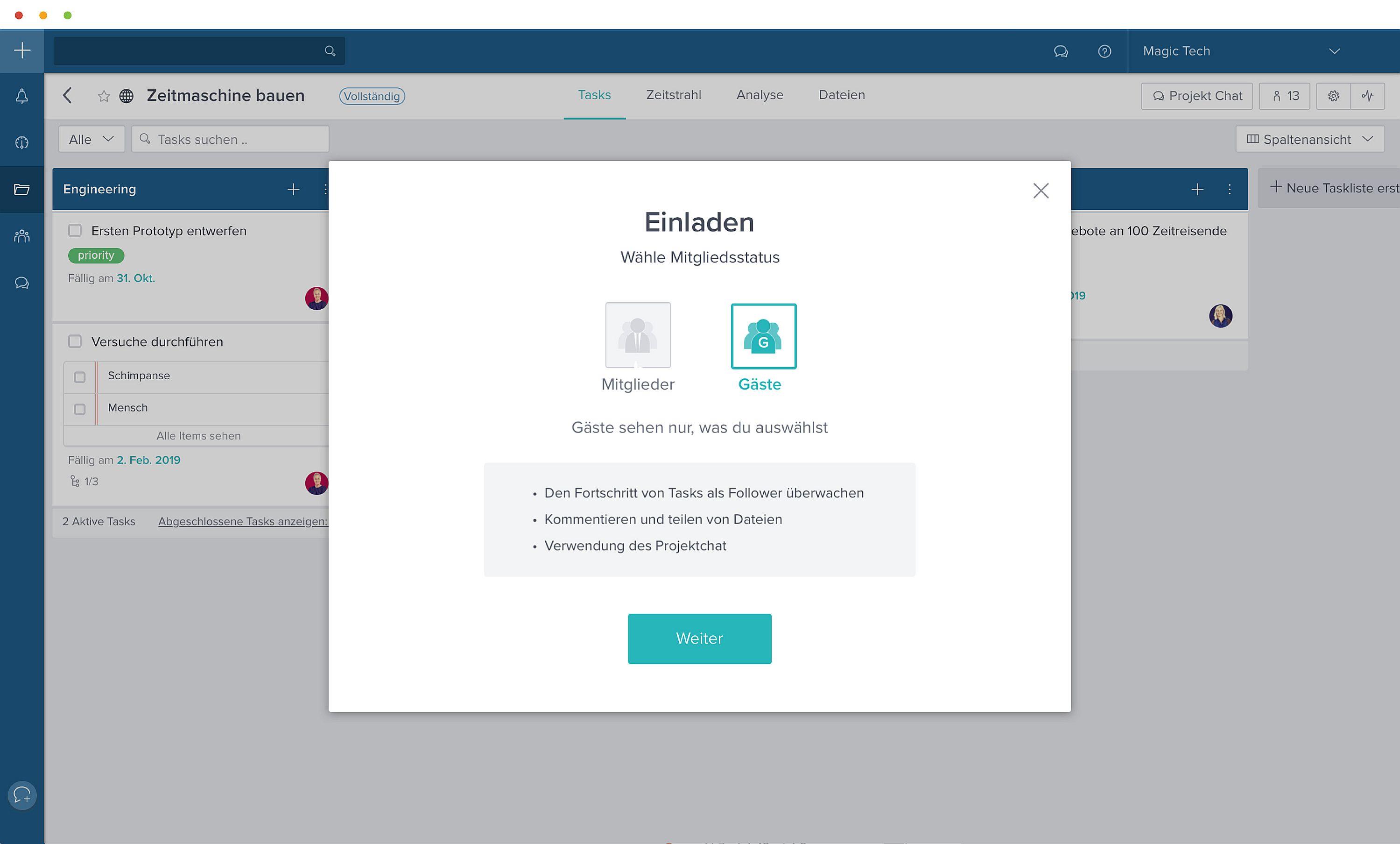 Taskworld stellt neues Release mit Gastzugang für Kollaborations-Partner vor