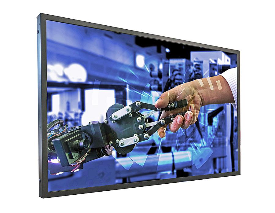 Distec erweitert POS-Line um UHD-Monitor Brilan 4k 75″