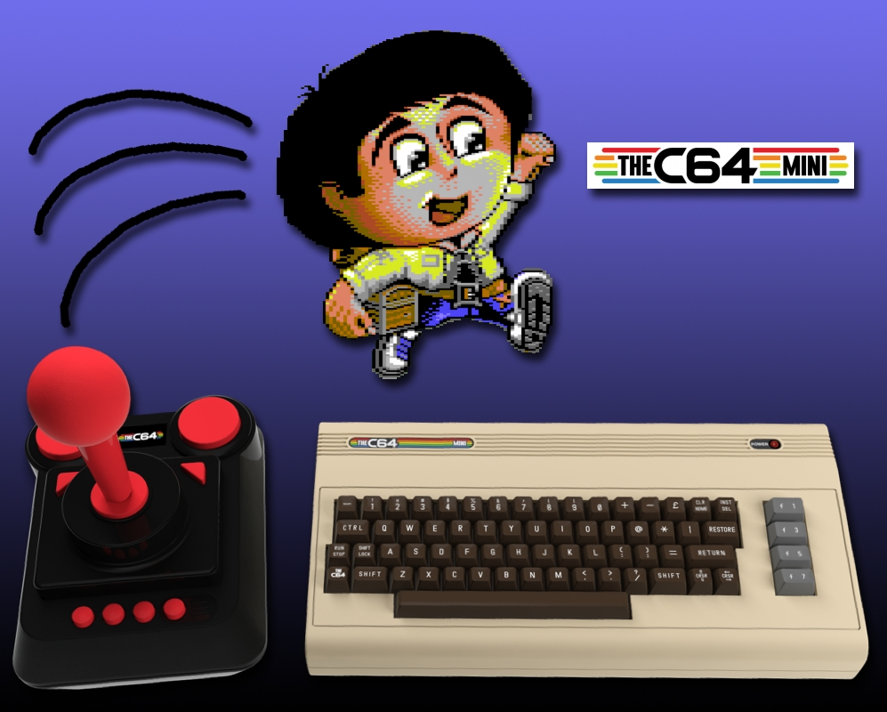 Sam's Journey als C64 Mini Version verfügbar