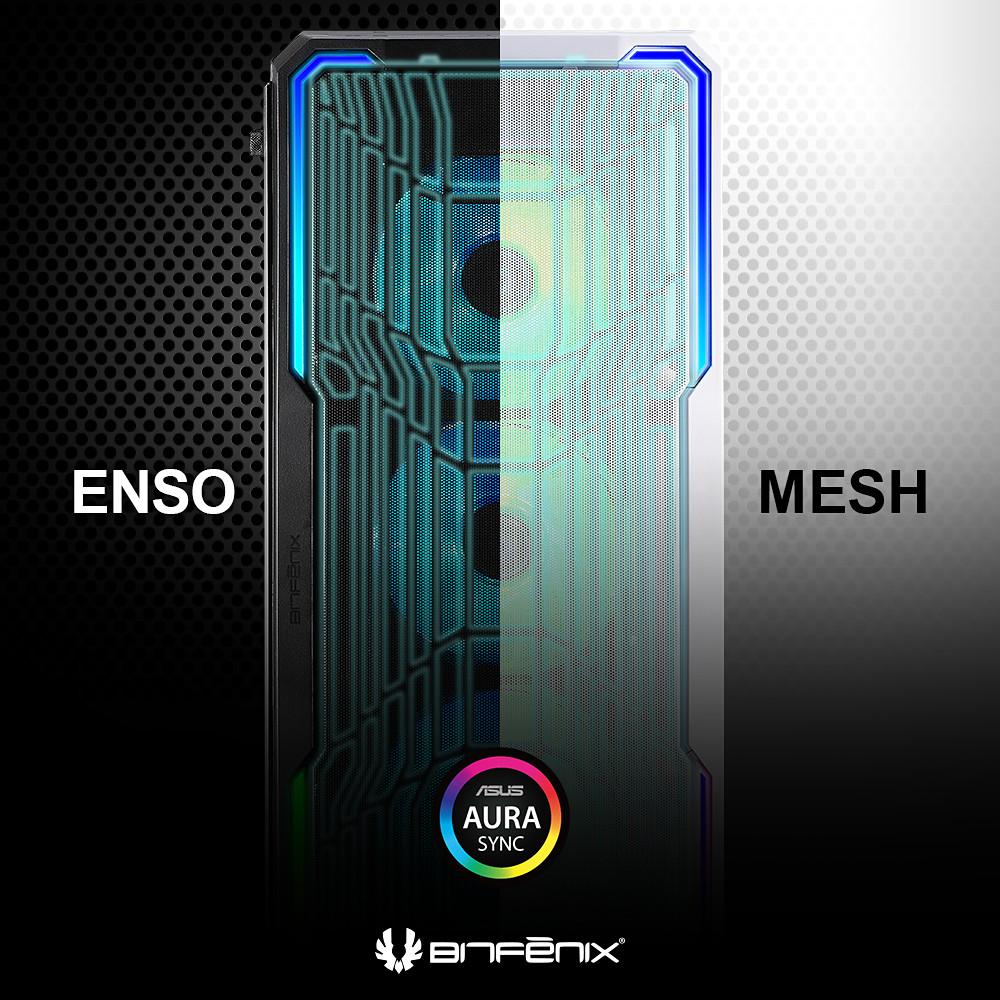 BRANDNEU bei Caseking – BitFenix Enso Mesh: Der Midi-Tower mit optimalem Airflow.