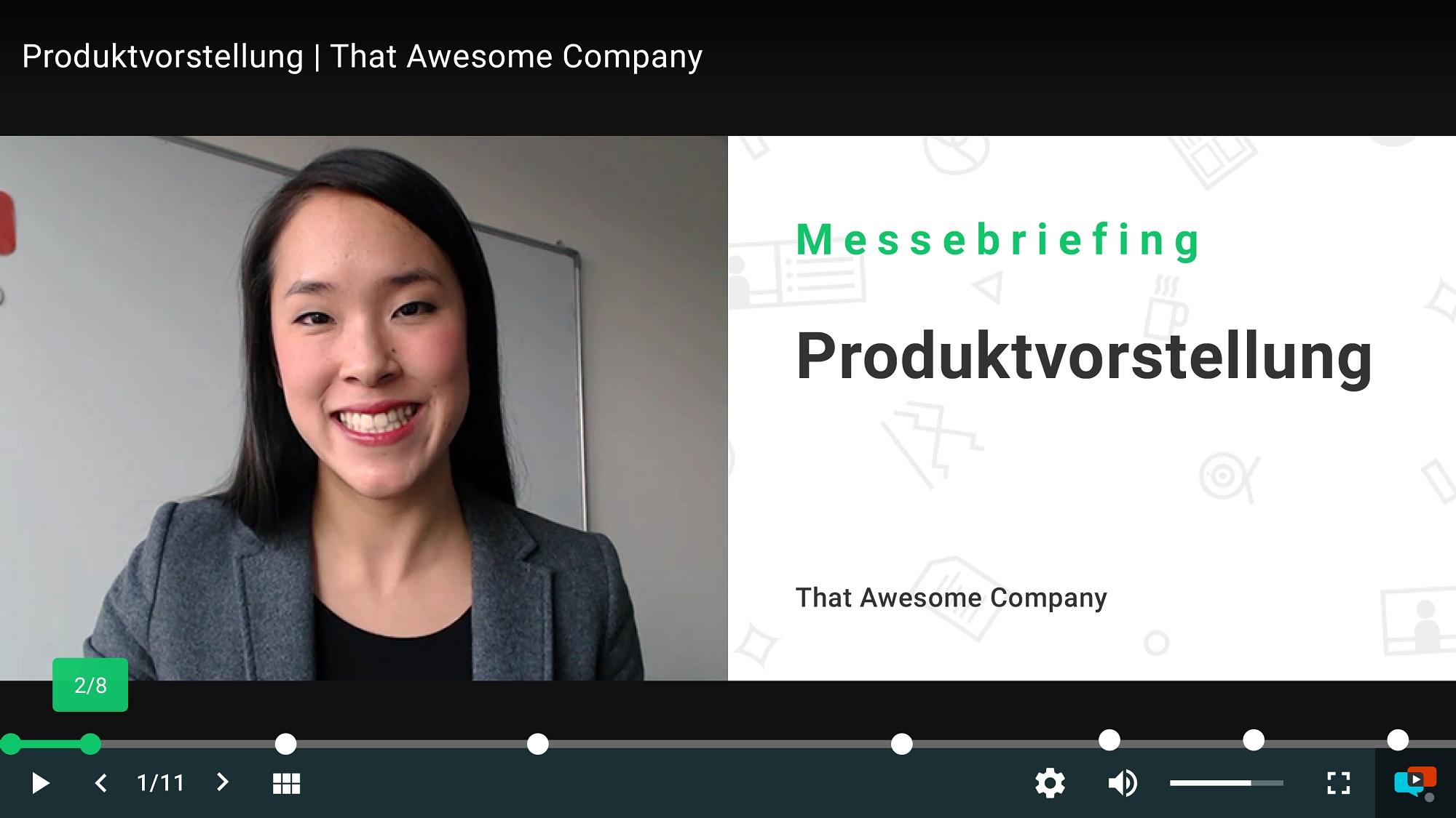 100 E-Learning-Videos für Mitarbeiter in 3 Monaten selbst erstellt