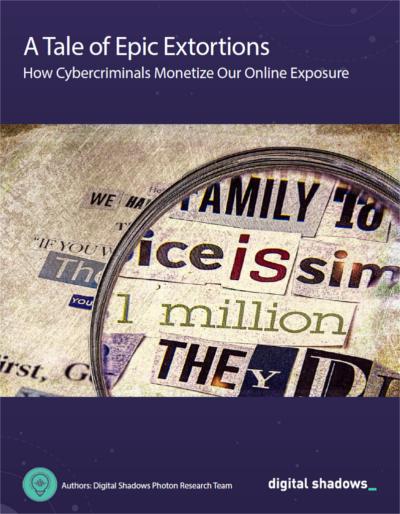 Neuer Report von Digital Shadows: Cyber-Erpressung auf Management-Ebene