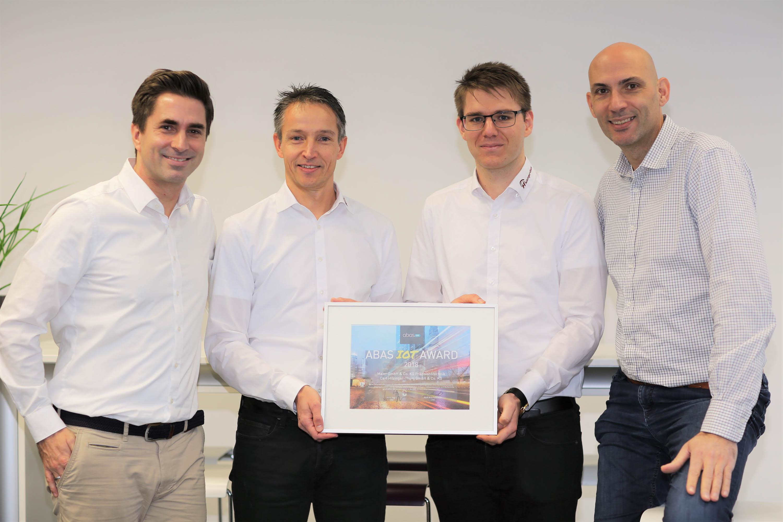 abas Software AG verleiht ersten IoT-Preis