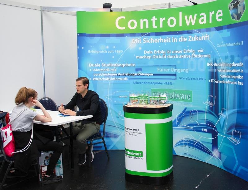 Individuelle Beratung zum Einstieg in die IT: Controlware auf der vocatium Rhein-Main 2019 in Offenbach