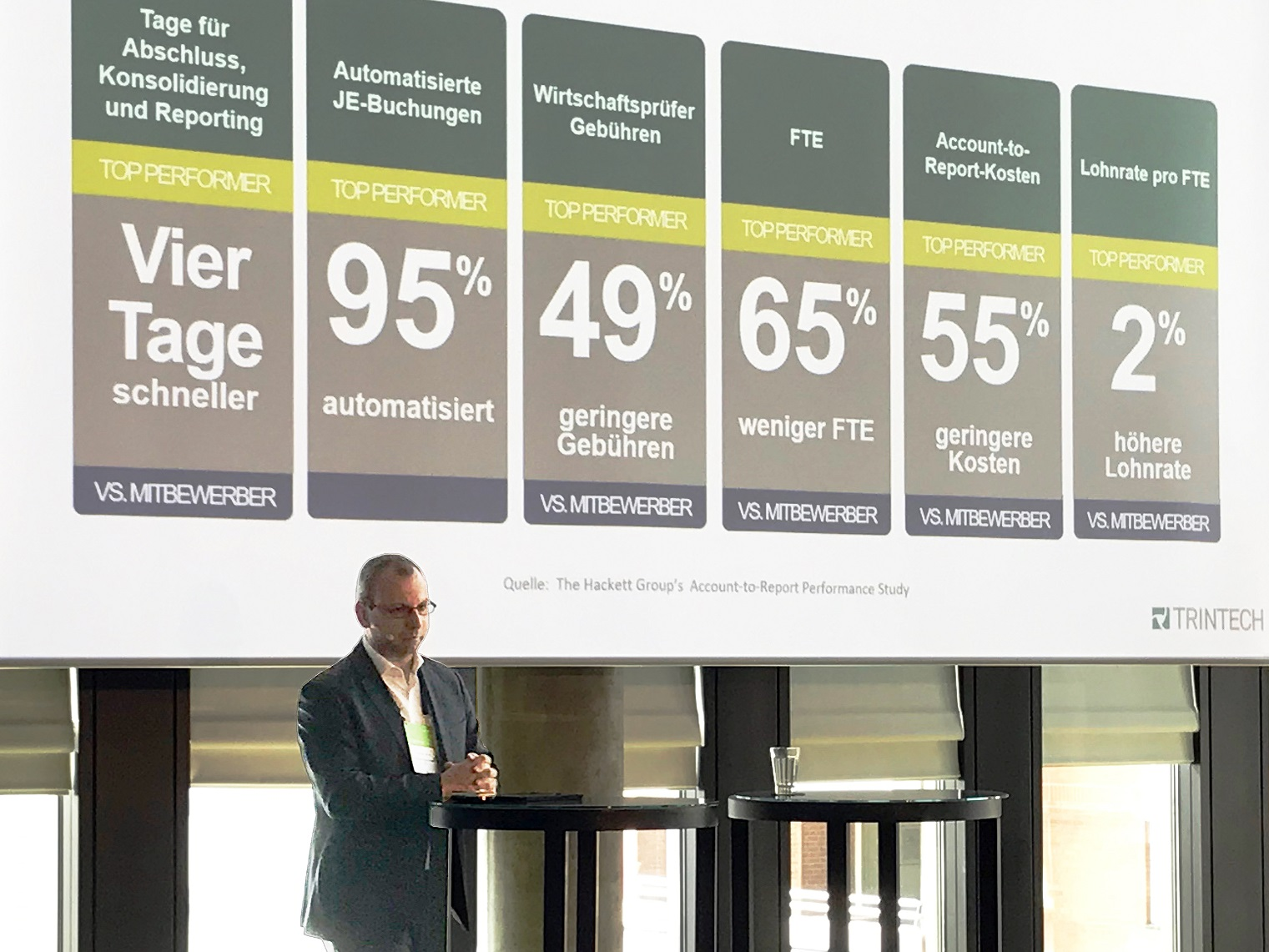 Trintech nimmt am S/4HANA Finance Summit in Darmstadt teil