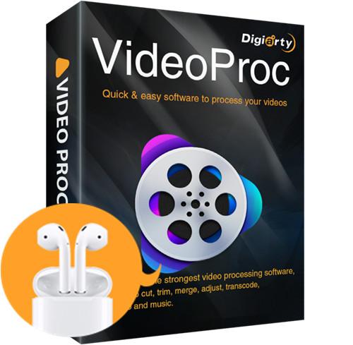 Gewinnspiel bei Digiarty – VideoProc bewerten, Airpods 2 gewinnen