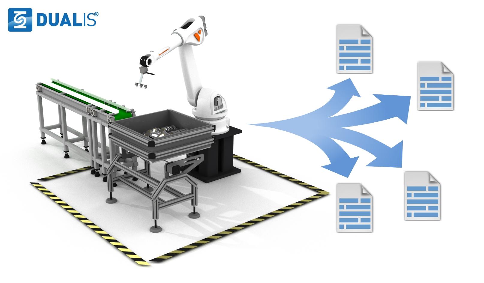 DUALIS mit neuen Add-ons für die individuelle 3D-Simulation mit Visual Components