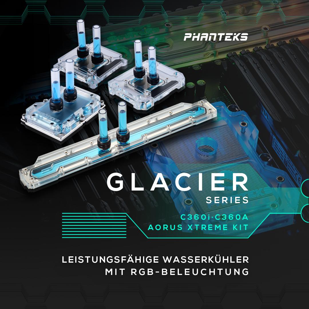 NEUHEIT bei Caseking – PHANTEKS Glacier Gigabyte C621 Aorus Xtreme Kit & C360 Wasserkühler