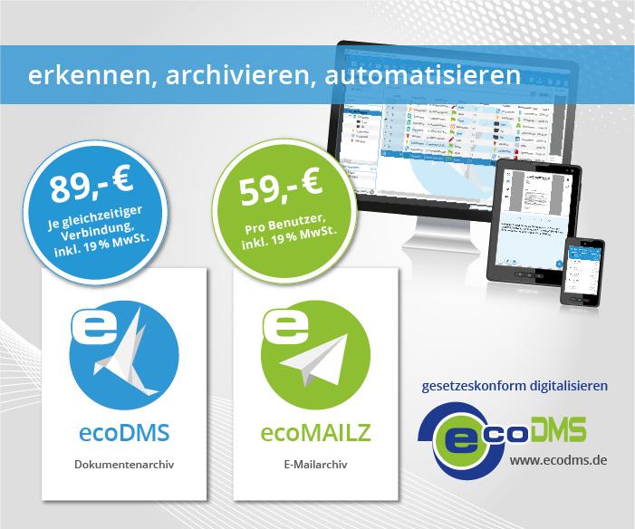 ecoDMS Version 18.09-2, neue Webinare und ein modernes Webdesign online