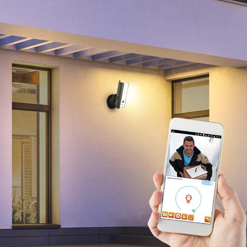 Blaupunkt bietet smarte Überwachungskamera als Außenlampe