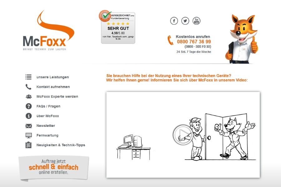 McFoxx stellt Weichen für Wachstum