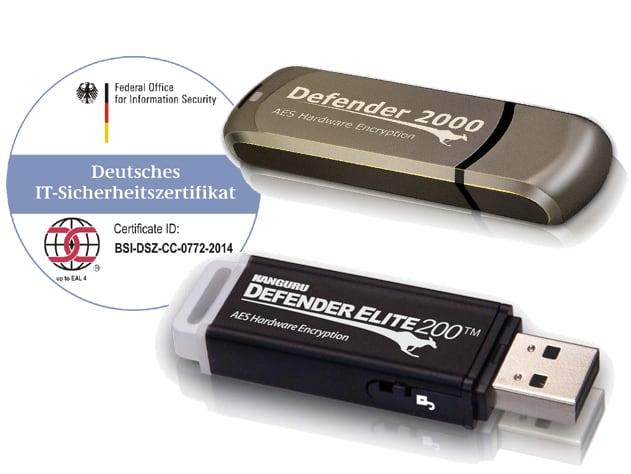 Weltweit einzigartig: sichere BSI zertifizierte USB-Stick's nach EU-DSGVO wieder lieferbar