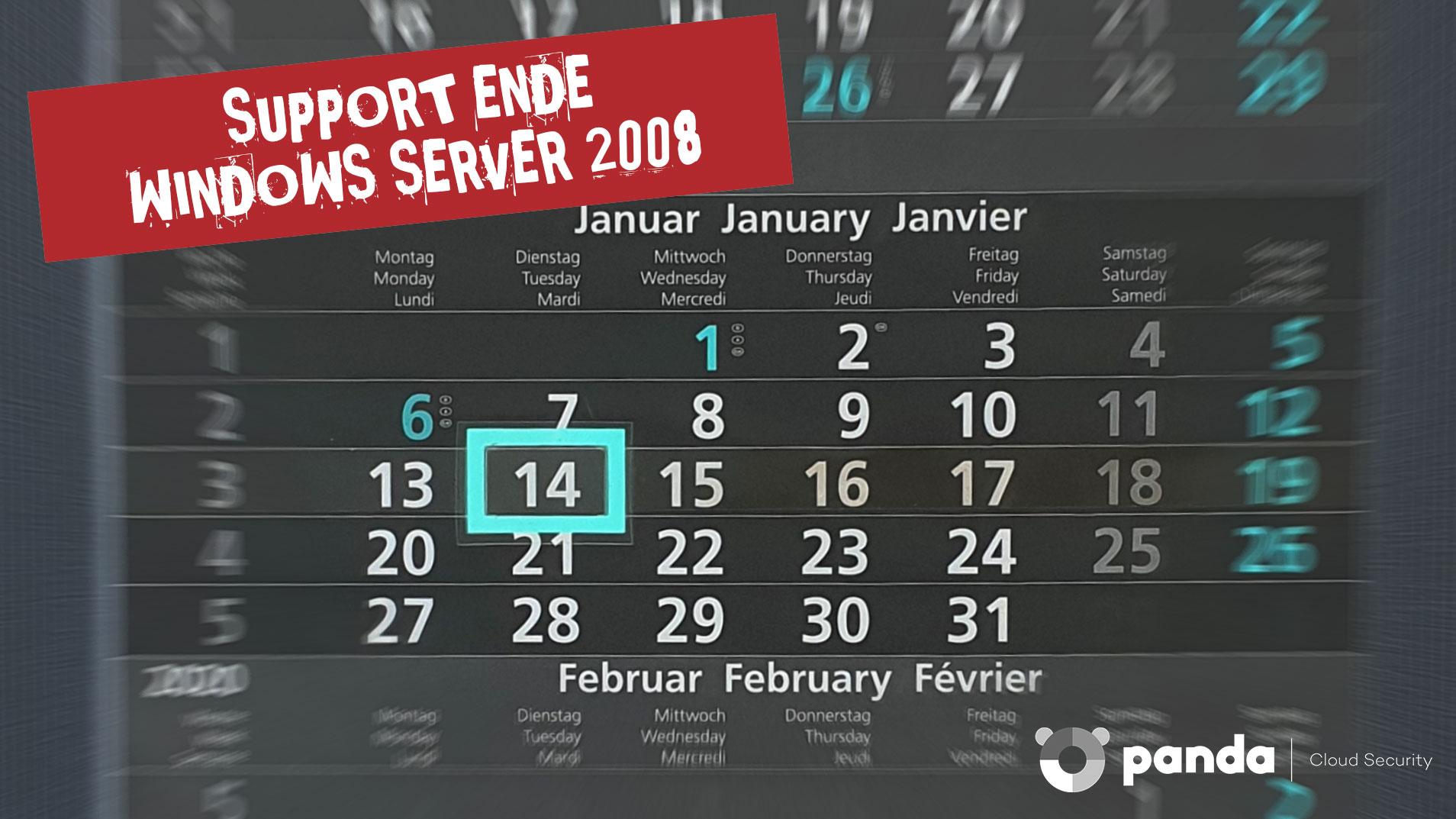 Windows Server 2008 sicher weiterbetreiben
