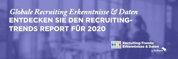 Fachkräftemangel an der Spitze der Herausforderungen für Personalbeschaffer in der DACH-Region im Jahr 2020