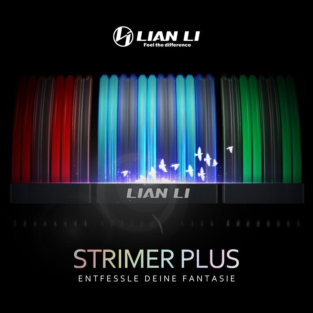Jetzt bei Caseking – Lian Li Strimer Plus: RGB-Erweiterungskabel mit bis zu 120 LEDs!