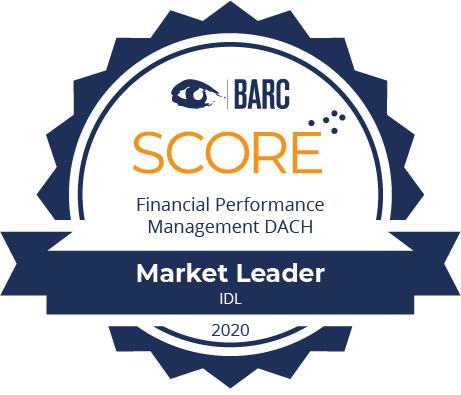 """BARC Score 2020: IDL erneut """"Market Leader"""" Financial Performance Management DACH"""