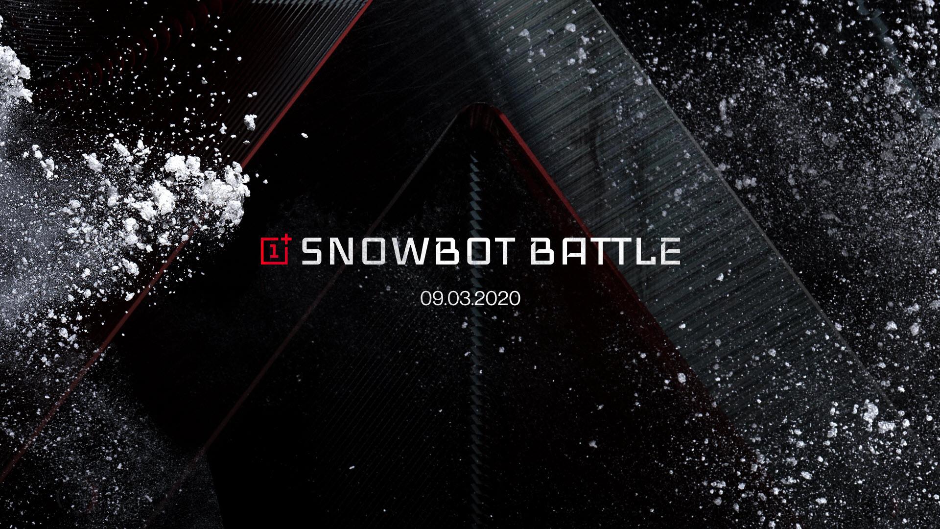 OnePlus präsentiert die erste 5G-Snowbot-Schlacht