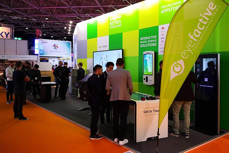 eyefactive präsentiert neue Technologien für den Einzelhandel auf der ISE & Euroshop 2020