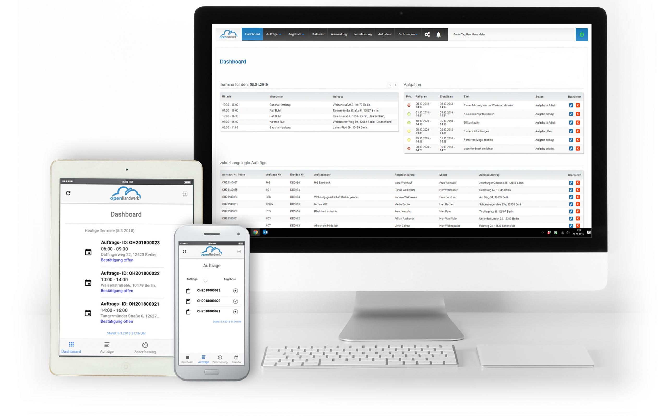ProvenExpert und die Handwerkersoftware openHandwerk kooperieren