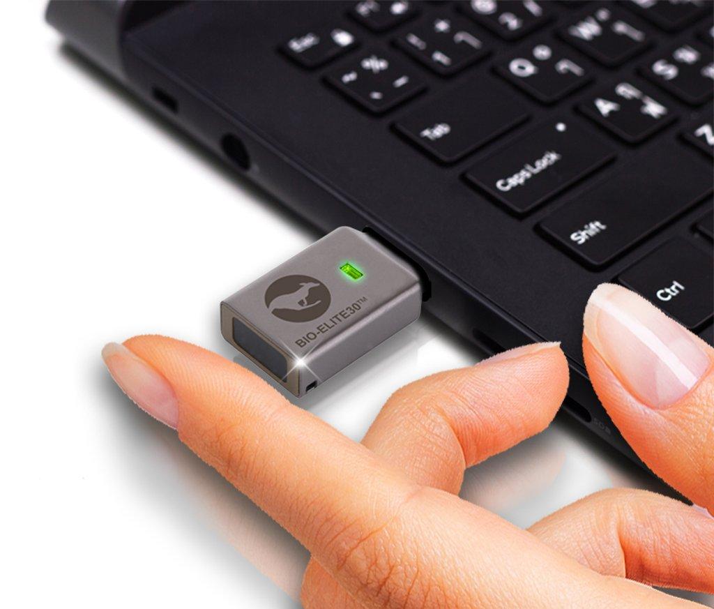 Weltweit einzigartig: hardwareverschlüsselter, managebarer Fingerabruck USB-Stick für das HomeOffice