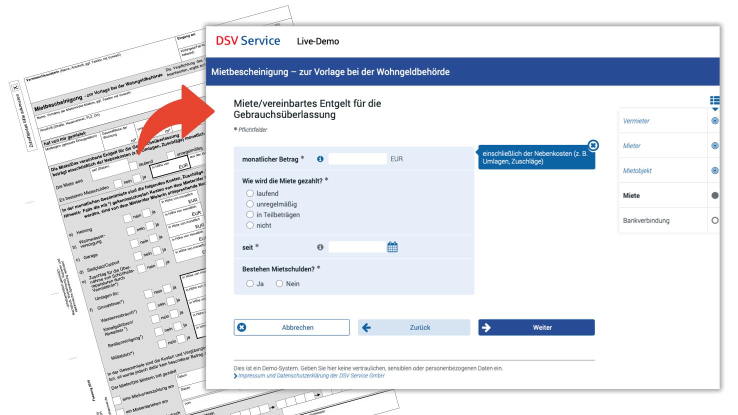DSV Service aktualisiert OZG-Formularkatalog für die Verwaltung