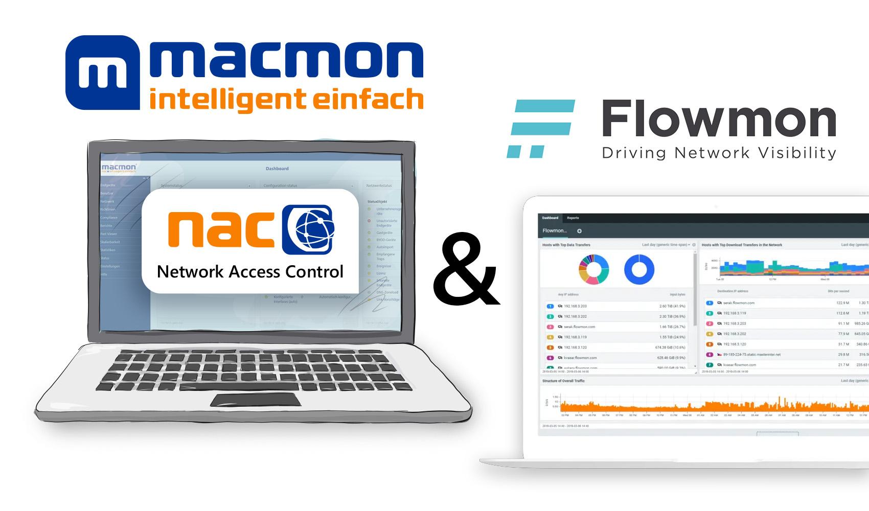 Integration von macmon NAC mit Flowmon ADS
